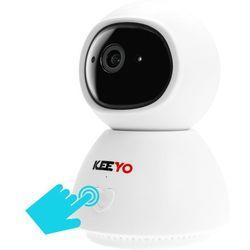 LV-IP25PTZ kamera PTZ KEEYO IP FullHD Wifi Niania Elektroniczna bezprzewodowa z przyciskiem wywołania rozmowy 2MPx IR 10m, LV-IP25PTZ