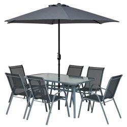 Jumi Gotowy zestaw mebli tarasowych fiesta z parasolem (5900410397071)