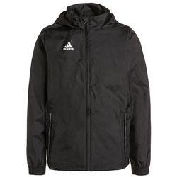 adidas Performance CORE Kurtka przeciwdeszczowa black/white z kategorii kurtki dla dzieci