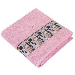 Bellatex Ręcznik Kamienie różowy, 50 x 100 cm