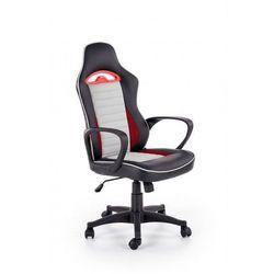 Fotel gabinetowy Carel - czarny + popielaty