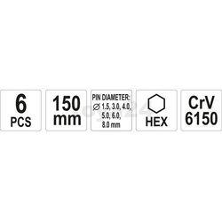 Zestaw wybijaków Yato YT-47121 - ZYSKAJ RABAT 30 ZŁ (5906083471216)