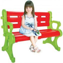 Ławeczka dla dzieci ogrodowa parkowa do domu marki Woopie