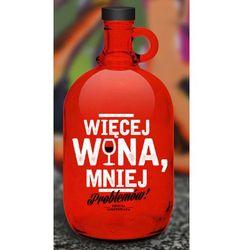 Butla czerwona - Więcej wina (5908276456512)