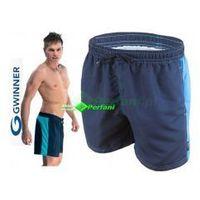 Adrian spodenki kąpielowe granat/niebieski  | wysyłka 24h marki Gwinner