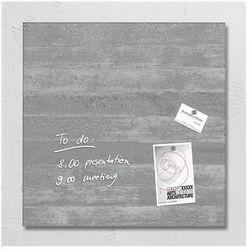 Tablica suchoś. -magn. , 48x48cm, szklana, imitacja betonu marki Sigel