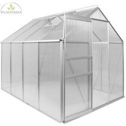 Plantasia ® Szklarnia aluminiowa na pomidory 250x190x195cm 4mm (30060332)