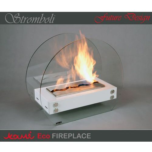 Biokominek Stromboli White by Kami - oferta [1507d444931f73dc]