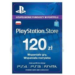 Sony  playstation network 120 zł [kod aktywacyjny]