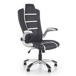 Fotel gabinetowy Harold - czarny