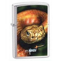 Zippo Zapalniczka  mazzi snake, high polish chrome
