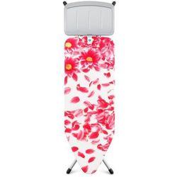 Brabantia - deska do prasowania rozmiar 124 x 45 cm, rama szara 25mm - pink santini
