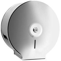 Bisk pojemnik (dystrybutor) na papier toaletowy jumbo metal chrom 01570