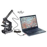 Mikroskop 40x-1024 USB w walizce ()