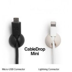 BlueLounge CableDrop mini uchwyty na kabel 6 szt. białe - sprawdź w wybranym sklepie