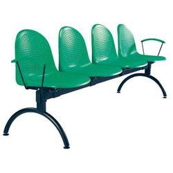 Krzesło amigo arm-4 - do poczekalni i sal konferencyjnych, konferencyjne, na nogach, stacjonarne marki Nowy styl