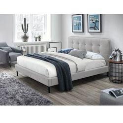 Łóżko sally 160x200 kolor szary/czarny tap. 77 marki Signal meble