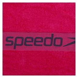 SPEEDO RĘCZNIK BAWEŁNIANY BORDER TOWEL ECSTATIC/USA CHARCOAL PINK 70X140CM