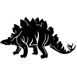 Szablon malarski z tworzywa, wielorazowy, wzór dla dzieci 28 - dinozaur marki Szabloneria