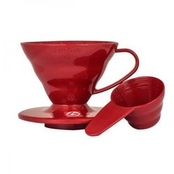 drip plastikowy czerwony v60 01 marki Hario