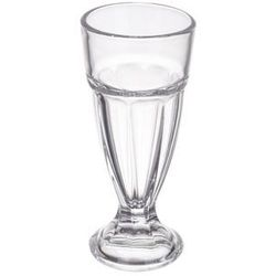 Wysoka szklanka na nóżce 320 ml do soku, koktajlu