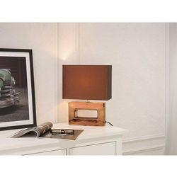 Nowoczesna lampka nocna - lampa stojąca w kolorze brązowym - ONYX (7081453533294)