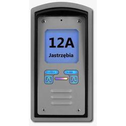 BRA-2UQ MOD Domofon dwurodzinny z interkomem i czytnikiem kart, BRA-2UQ MOD