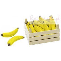 Owoce w skrzynce, banany, 10 elementów.