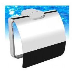 OMNIRES MICHIGAN Uchwyt na papier toaletowy z klapką, chrom MI20520