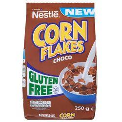 Płatki śniadaniowe Nestlé Corn Flakes Choco o smaku czekoladowym 250 g z kategorii Płatki, musli i otręby