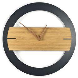 Zegar ścienny bamboos karmelove marki Woodwaycrafts