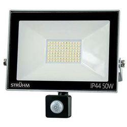 Elewacyjna LAMPA ścienna KROMA LED 50W 03607 Ideus reflektorowa OPRAWA zewnętrzna z czujnikiem ruchu outdoor