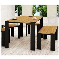 Stół ogrodowy 150 cm redis- 24 kolory marki Elior.pl