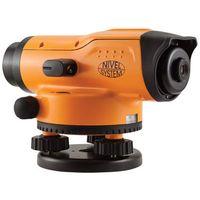 Niwelator optyczny Nivel System N24x + statyw + łata