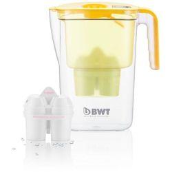 dzbanek filtrujący vida 2,6l, 2 filtry w opakowaniu żółty marki Bwt