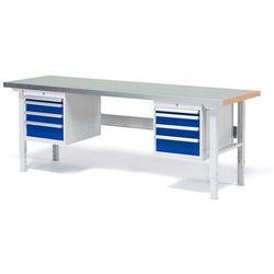 Stół roboczy z wyposażeniem