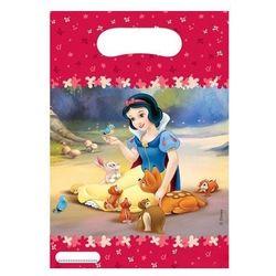 Prezentowe torebki urodzinowe Królewna Śnieżka - 6 szt. (5201184069141)