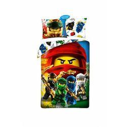 Pościel bawełniana ninjago 1y41tn marki Lego