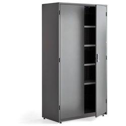 Aj produkty Szafa narzędziowa, elektroniczny zamek szyfrowy, 1900x1020x500 mm, ciemnoszary