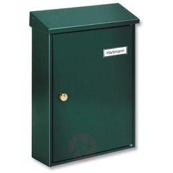 Zielona, prosta skrzynka na listy LETTER 5832 (4003482610701)