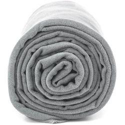 xl szybkoschnący ręcznik treningowy 70x140 cm / szary - szary marki Dr.bacty