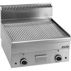 Płyta grillowa stołowa,ryftlowana - gazowa MBM600, produkt marki Hendi