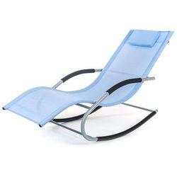Happy Green leżak plażowy Catania 148x63x87 cm, niebieski