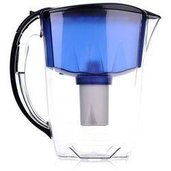 Dzbanek filtrujący  ideal 2,8 l granatowy + 1 wkład b100-15 standard marki Aquaphor