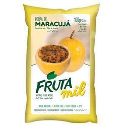 Marakuja - Passiflora - Męczennica puree owocowe (miąższ, pulpa, sok z miąższem) bez cukru - produkt z ka