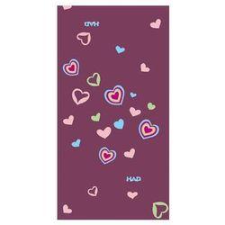 HAD Kids Fleece Hearts - dziecięca chusta wielofunkcyjna (fioletowa) ()