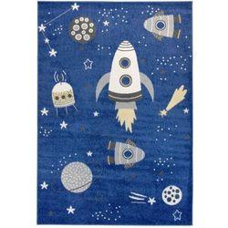 Dywan dziecięcy KOMFORT Easy SPACE 180x270 niebieski, LC074-180x270