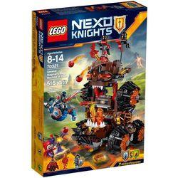 Lego NEXO KNIGHTS Machina oblężnicza generała Magmara 70321, klocki do zabawy