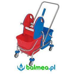 Splast Wózek do sprzątania roll mop wch-0004 dwuwiaderkowy z prasą do wyciskania