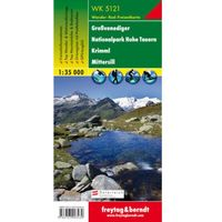 Großvenediger, Nationalpark Hohe Tauern, Krimml, Mittersill, 1:35 000 (9783707903430)